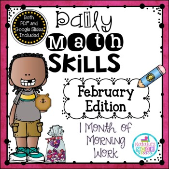 Daily Math Skills {February Morning Work}