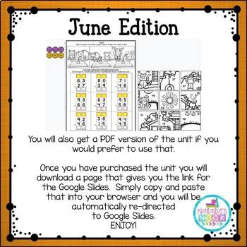 Daily Math Skills {June Morning Work}