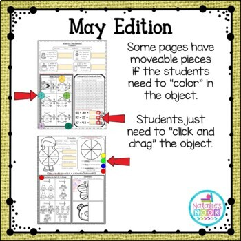 Daily Math Skills {May Morning Work}