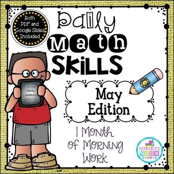 Daily Math Skills {May Morning Work}