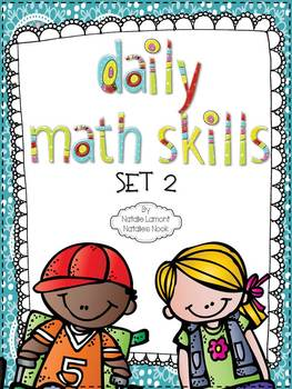 Daily Math Skills {Set 2}