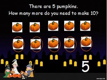 Daily Math Skills Week 10 Halloween Theme
