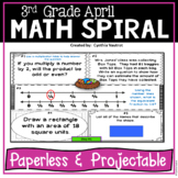 Daily Math Spiral! Third!
