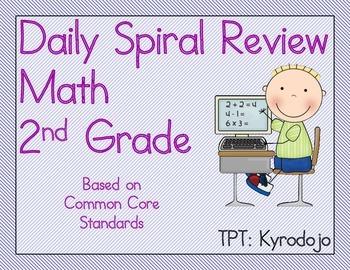 Daily Math Spiral 2nd Grade
