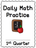 Daily Math Spiral Review