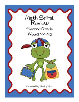 Daily Math Spiral Review, Weeks 22-25