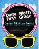 Daily Math Summer Take-Home Booklet First Grade