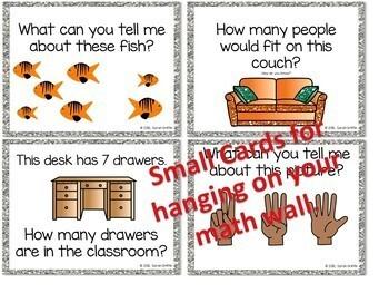 Daily Math Talk Cards Vol 2