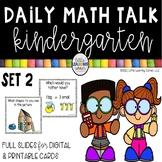 Daily Math Talks | Kindergarten Number Talks Set 2