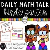 Daily Math Talks - Kindergarten Number Talks