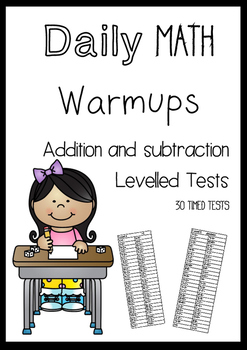 Daily Math Timed Tests - Addition and Subtraction Fluency