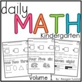 Daily Math Volume 1 Kindergarten