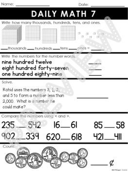 Daily Math Volume 2 Second Grade
