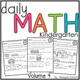 Daily Math Volume 4 Kindergarten