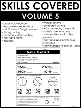 Daily Math Volume 5 Second Grade