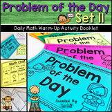 Daily Math Warm Up Activity Booklet: Problem of the Day - Set 11