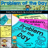 Daily Math Warm Up Activity Booklet: Problem of the Day - Set 2