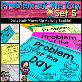 Daily Math Warm Up Activity Booklet: Problem of the Day - Set 5
