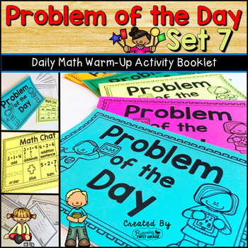 Daily Math Warm Up Activity Booklet: Problem of the Day - Set 7 | TpT