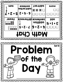 Daily Math Warm Up Activity Booklet: Problem of the Day - Set 8