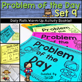 Daily Math Warm Up Activity Booklet: Problem of the Day - Set 9