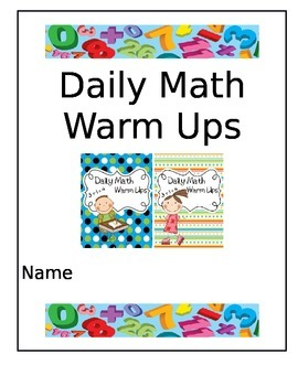 Daily Math Warm Ups
