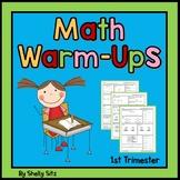 2nd Grade Math Worksheets First Trimester