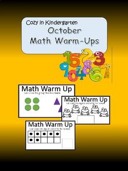 Math Task Card Activities -  October