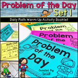 Daily Math Warm Up Activity Booklet: Problem of the Day - Set 1