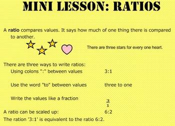 Daily Math Warm Ups Week 18 Ratios