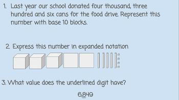 Daily Math Warm-Ups by TEK