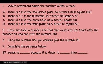 Daily Math Warm-Ups by the TEK