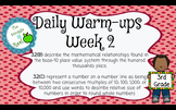 Daily Math Warm-Ups by the TEK