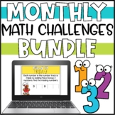 Daily Math Warm-Ups for 2nd Grade - Growing Bundle