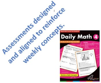 Daily Math - Weeks 1-30 Weekly Assesments