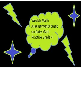 Daily Math Weekly Assessments Grade 4