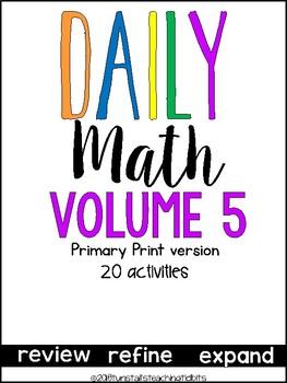 Daily Math Vol. 5 Primary Print