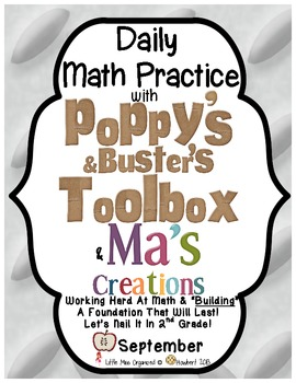 Daily Math With Poppy's and Buster's Toolbox & Ma's Creations for September!