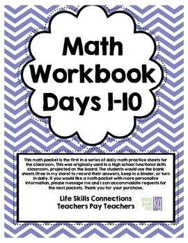 Daily Math Practice [Days 1-10]