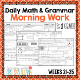 3rd Grade Morning Work - Weeks 21-25