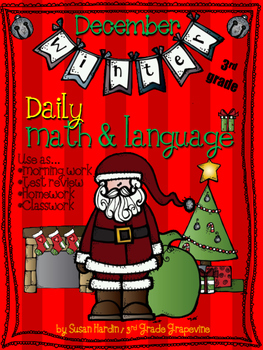 Daily Math and Language:  December
