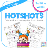 2nd Grade Daily Math and Language Hot Topics Review - 3rd Nine Weeks