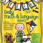 Daily Math and Language: March