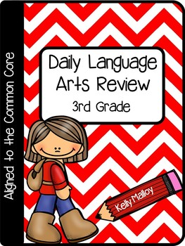 Daily Math and Language Review 3rd Grade Bundle