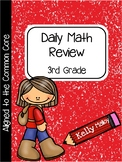 Distance Learning Daily Math and Language Review 3rd Grade Bundle