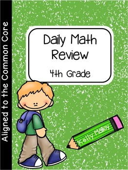 Daily Math and Language Review 4th Grade Bundle