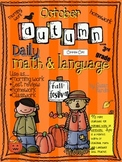 Daily Math and Language: October