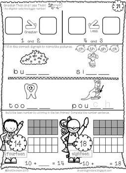 Daily Math and Literacy {May} Morning Work