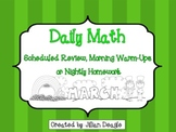 Daily Math for 2nd or 3rd Grade: March Edition