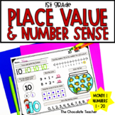 Place Value Worksheets | Number Sense Activities | 1st Grade Math